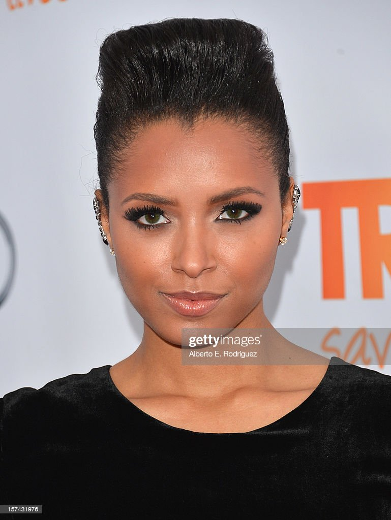 Actress Kat Graham arrives to The Trevor Project's 'Trevor Live' event honoring singer Katy Perry at the Hollywood Palladium on December 2, 2012 in Hollywood, California.