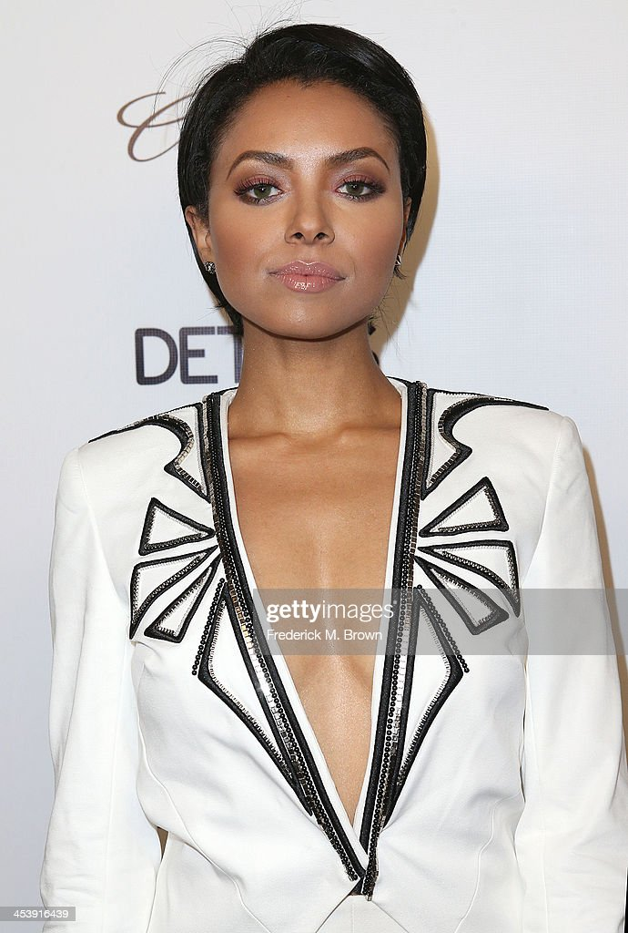 Actress Kat Graham attends DETAILS Celebrates The 2013 Hollywood Mavericks at the Soho House on December 5, 2013 in West Hollywood, California.
