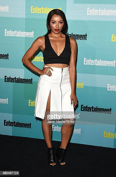 Actress Kat Graham attends Entertainment Weekly's ComicCon 2015 Party sponsored by HBO Honda Bud Light Lime and Bud Light Ritas at FLOAT at The Hard...