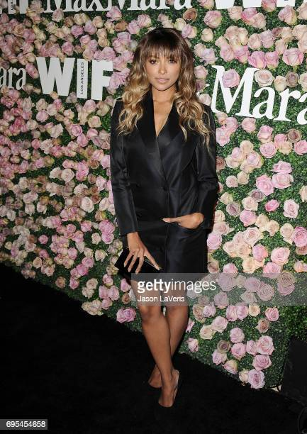 Actress Kat Graham attends Max Mara and Vanity Fair's celebration of Women In Film's Face of the Future Award recipient Zoey Deutch at Chateau...