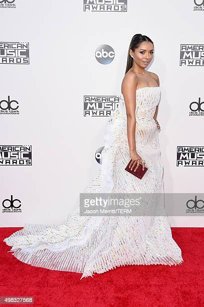 Actress Kat Graham attends the 2015 American Music Awards at Microsoft Theater on November 22 2015 in Los Angeles California