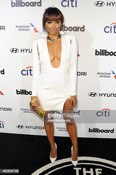 Actress Kat Graham attends the 2015 Billboard Power 100 Celebration at Bouchon on February 5 2015 in Beverly Hills California
