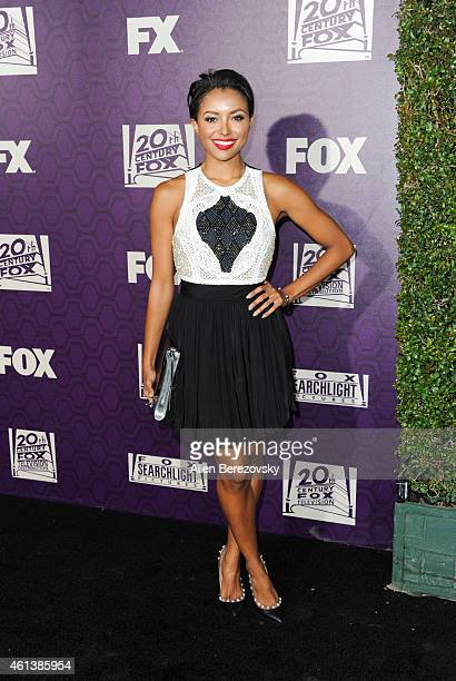 Actress Kat Graham attends the 2015 FOX Golden Globes Party at FOX Pavilion at the Golden Globes on January 11 2015 in Beverly Hills California