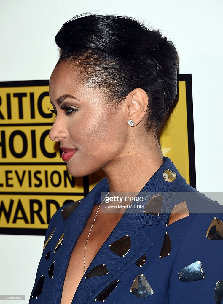 Actress Kat Graham attends the 4th Annual Critics' Choice Television Awards at The Beverly Hilton Hotel on June 19, 2014 in Beverly Hills, California.