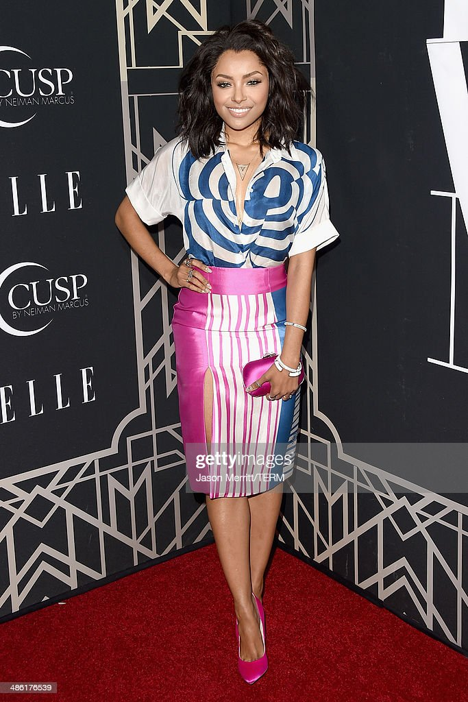 Actress Kat Graham attends the 5th Annual ELLE Women in Music Celebration presented by CUSP by Neiman Marcus. Hosted by ELLE Editor-in-Chief Robbie Myers with performances by Sarah McLachlan, Angel Haze and Betty Who, with special DJ set by Rumer Willis at Avalon on April 22, 2014 in Hollywood, California.