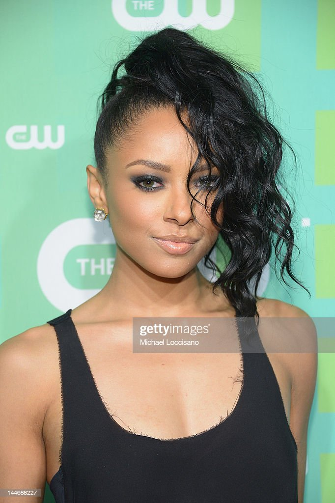 Actress Kat Graham attends The CW Network's New York 2012 Upfront at New York City Center on May 17, 2012 in New York City.