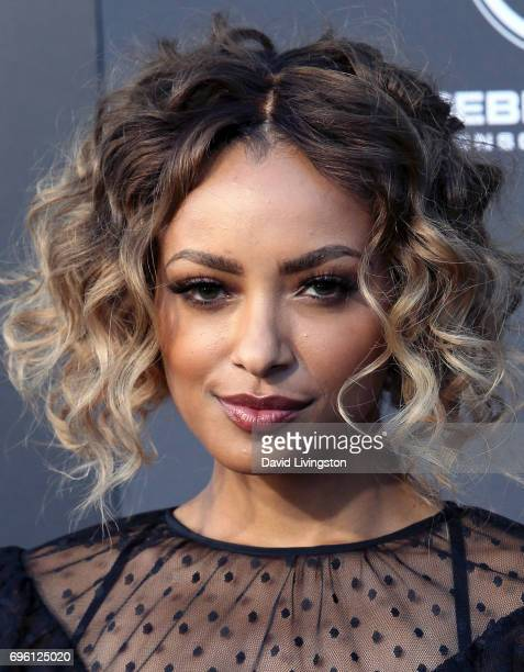 Actress Kat Graham attends the premiere of Lionsgate's 'All Eyez On Me' on June 14 2017 in Los Angeles California