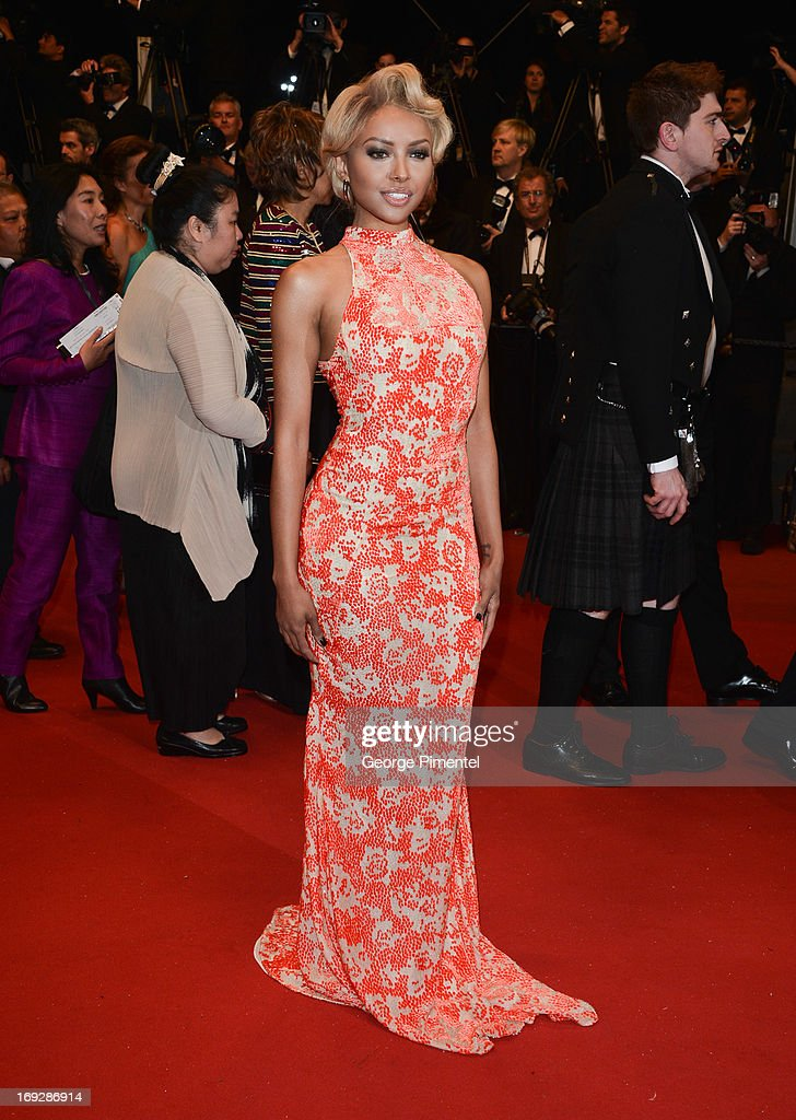 Actress Kat Graham attends the premiere of 'Only God Forgives' at The 66th Annual Cannes Film Festival>> on May 22, 2013 in Cannes, France.