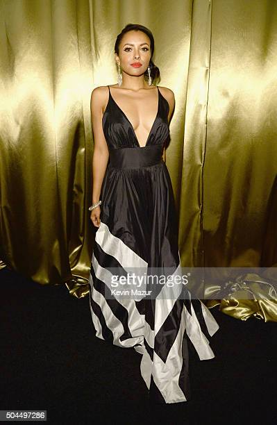 Actress Kat Graham attends The Weinstein Company and Netflix Golden Globe Party presented with DeLeon Tequila Laura Mercier Lindt Chocolate Marie...