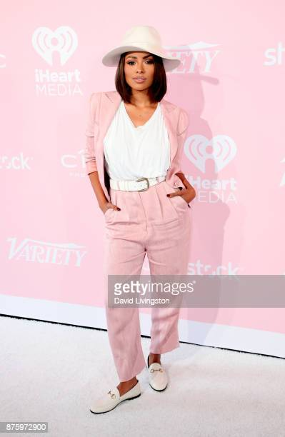 Actress Kat Graham attends Variety's 1st Annual Hitmakers Luncheon at Sunset Tower on November 18 2017 in Los Angeles California