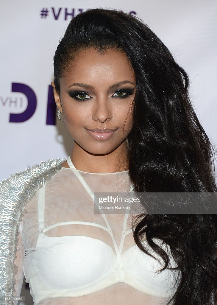 Actress Kat Graham attends 'VH1 Divas' 2012 at The Shrine Auditorium on December 16, 2012 in Los Angeles, California.