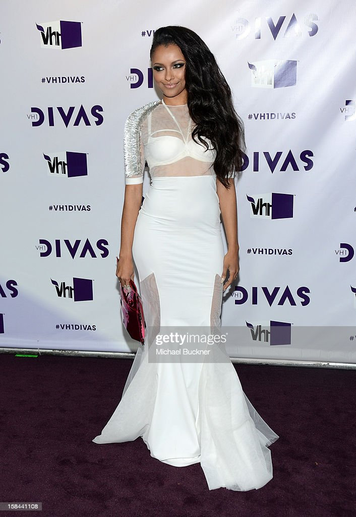 Actress Kat Graham attends 'VH1 Divas' 2012 at The Shrine Auditorium on December 16, 2012 in Los Angeles, California.