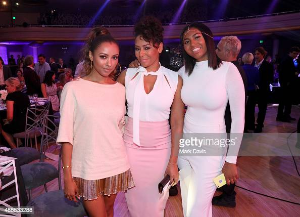 Actress Kat Graham recording artist Melanie Brown and Phoenix Chi attend VH1's 5th Annual Streamy Awards at the Hollywood Palladium on Thursday...