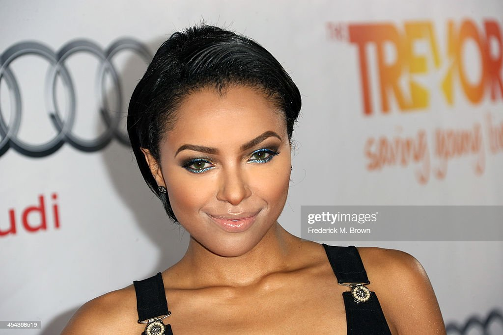 Actress Kat Grahama attends 'TrevorLIVE LA' honoring Jane Lynch and Toyota for the Trevor Project at Hollywood Palladium on December 8, 2013 in Hollywood, California.