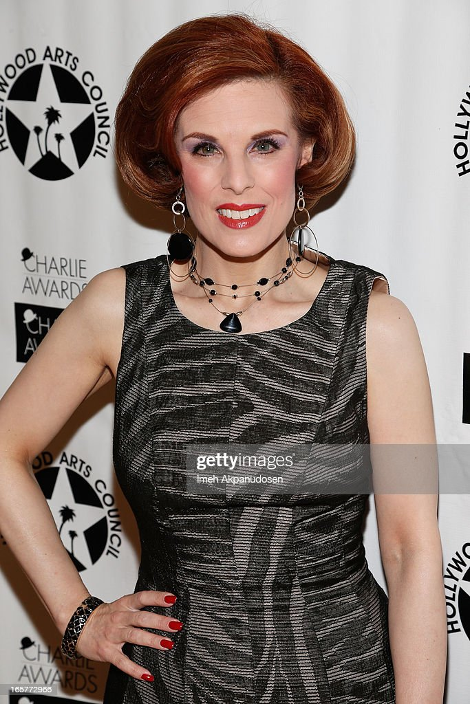 Actress <a gi-track='captionPersonalityLinkClicked' href=/galleries/search?phrase=Kat+Kramer&family=editorial&specificpeople=236074 ng-click='$event.stopPropagation()'>Kat Kramer</a> attends Hollywood Arts Council's 27th Annual Charlie Awards Luncheon at Hollywood Roosevelt Hotel on April 5, 2013 in Hollywood, California.