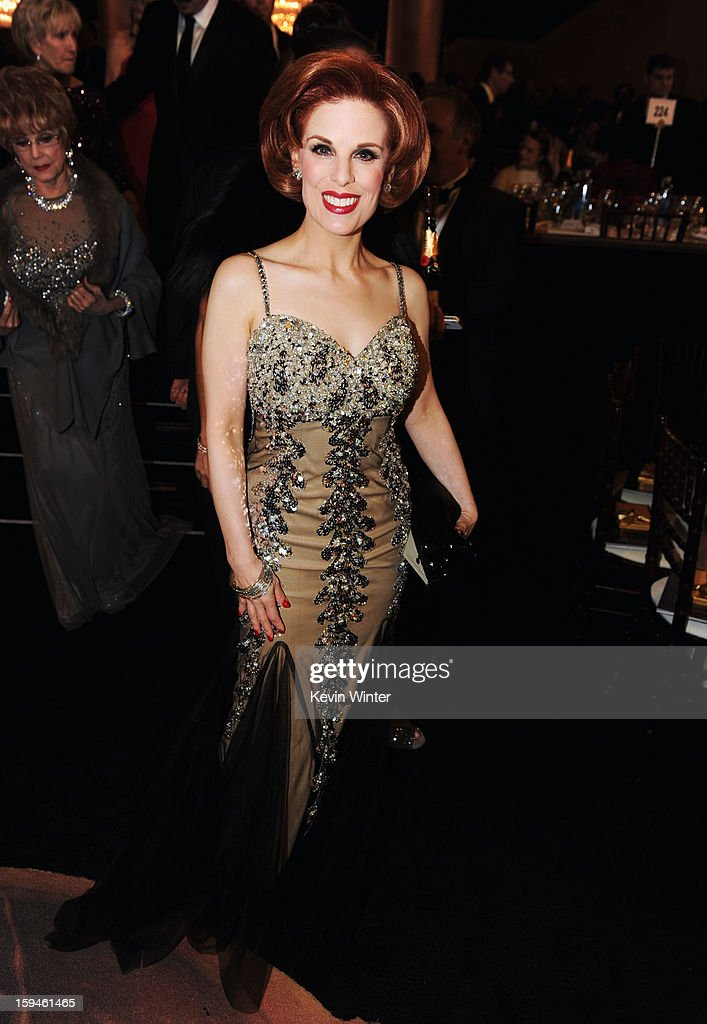 Actress Kat Kramer attends the 70th Annual Golden Globe Awards Cocktail Party held at The Beverly Hilton Hotel on January 13, 2013 in Beverly Hills, California.