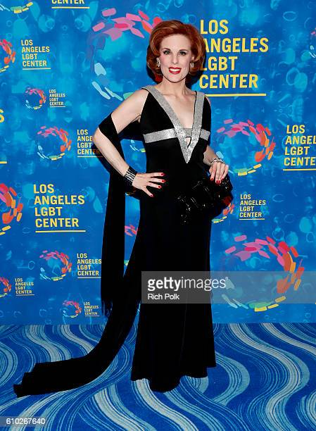Actress Kat Kramer attends the Los Angeles LGBT Center 47th Anniversary Gala Vanguard Awards at Pacific Design Center on September 24 2016 in West...