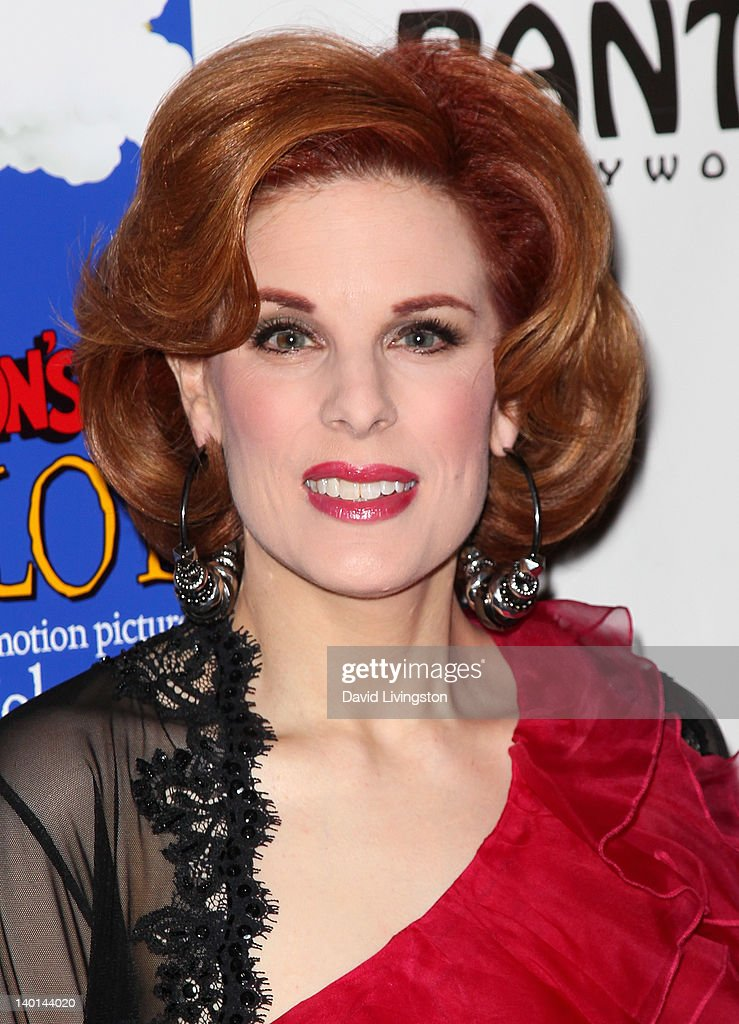 Actress <a gi-track='captionPersonalityLinkClicked' href=/galleries/search?phrase=Kat+Kramer&family=editorial&specificpeople=236074 ng-click='$event.stopPropagation()'>Kat Kramer</a> attends the opening night of 'Monty Python's Spamalot' at the Pantages Theatre on February 28, 2012 in Hollywood, California.