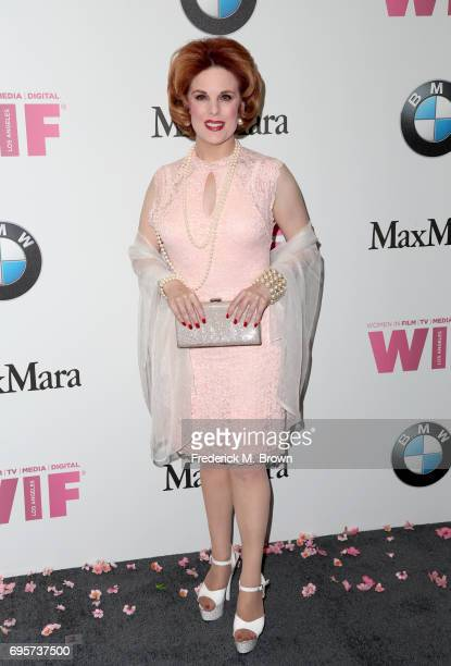 Actress Kat Kramer attends the Women In Film 2017 Crystal Lucy Awards presented By Max Mara and BMW at The Beverly Hilton Hotel on June 13 2017 in...