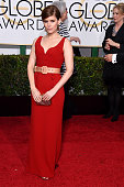 Actress Kata Mara attends the 72nd Annual Golden Globe Awards at The Beverly Hilton Hotel on January 11 2015 in Beverly Hills California