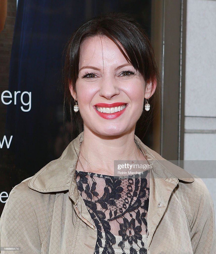 Actress Kate Arrington attends the 'The Assembled Parties' opening night at Samuel J. Friedman Theatre on April 17, 2013 in New York City.