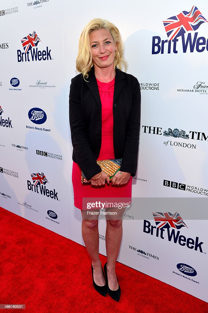 Actress Kate Ashfield attends the 8th Annual BritWeek Launch Party at a private residence on April 22, 2014 in Los Angeles, California.