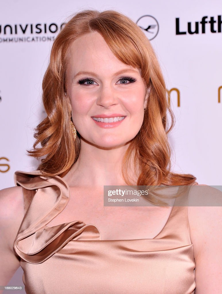 Actress <a gi-track='captionPersonalityLinkClicked' href=/galleries/search?phrase=Kate+Baldwin&family=editorial&specificpeople=2656972 ng-click='$event.stopPropagation()'>Kate Baldwin</a> attends the PowerWomen 2013 awards on November 14, 2013 in New York City.