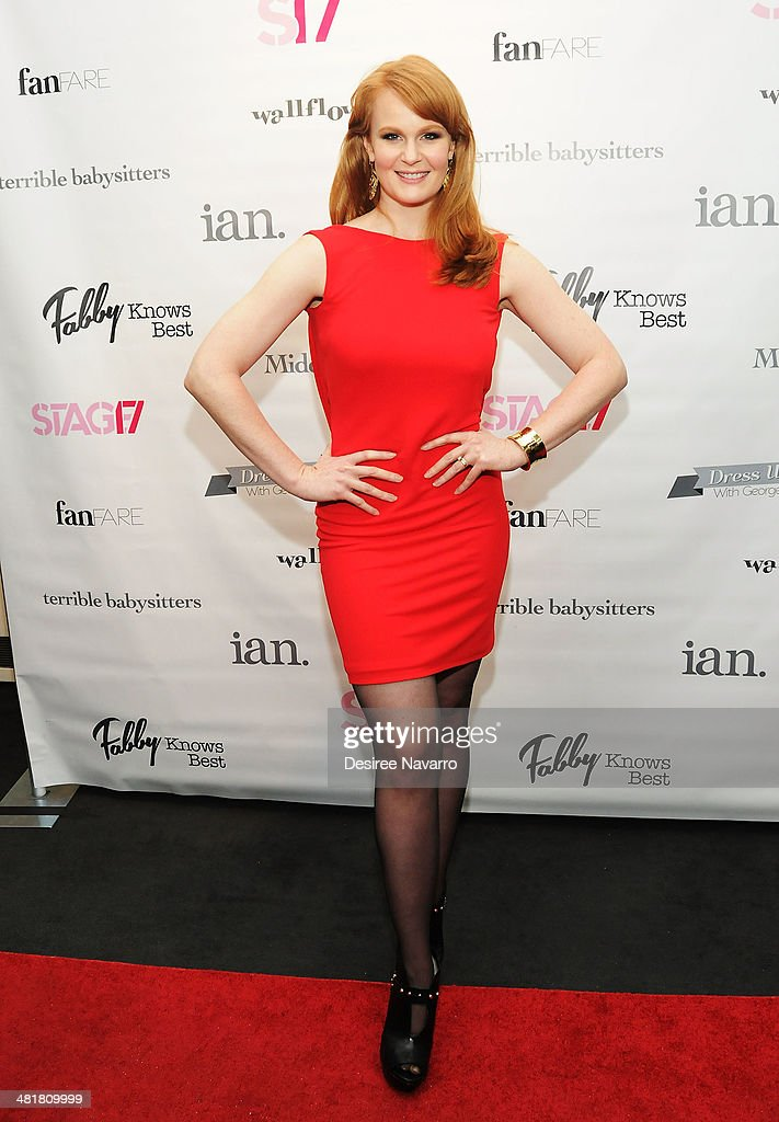 Actress Kate Baldwin attends the Stage17 Premiere at Walter Reade Theater on March 31, 2014 in New York City.