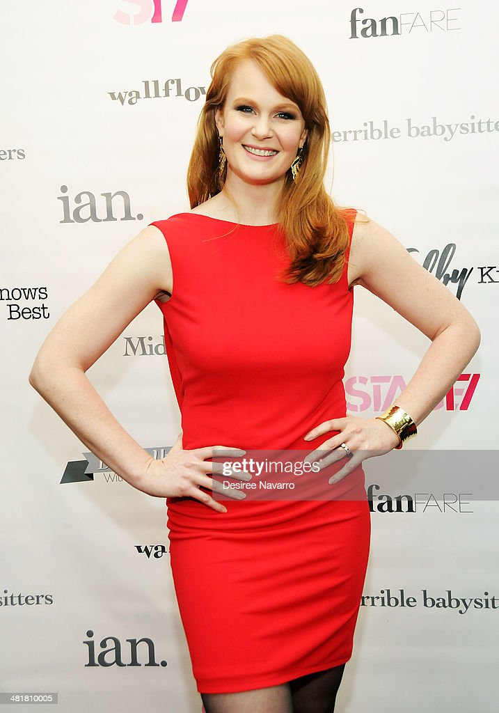 Actress <a gi-track='captionPersonalityLinkClicked' href=/galleries/search?phrase=Kate+Baldwin&family=editorial&specificpeople=2656972 ng-click='$event.stopPropagation()'>Kate Baldwin</a> attends the Stage17 Premiere at Walter Reade Theater on March 31, 2014 in New York City.
