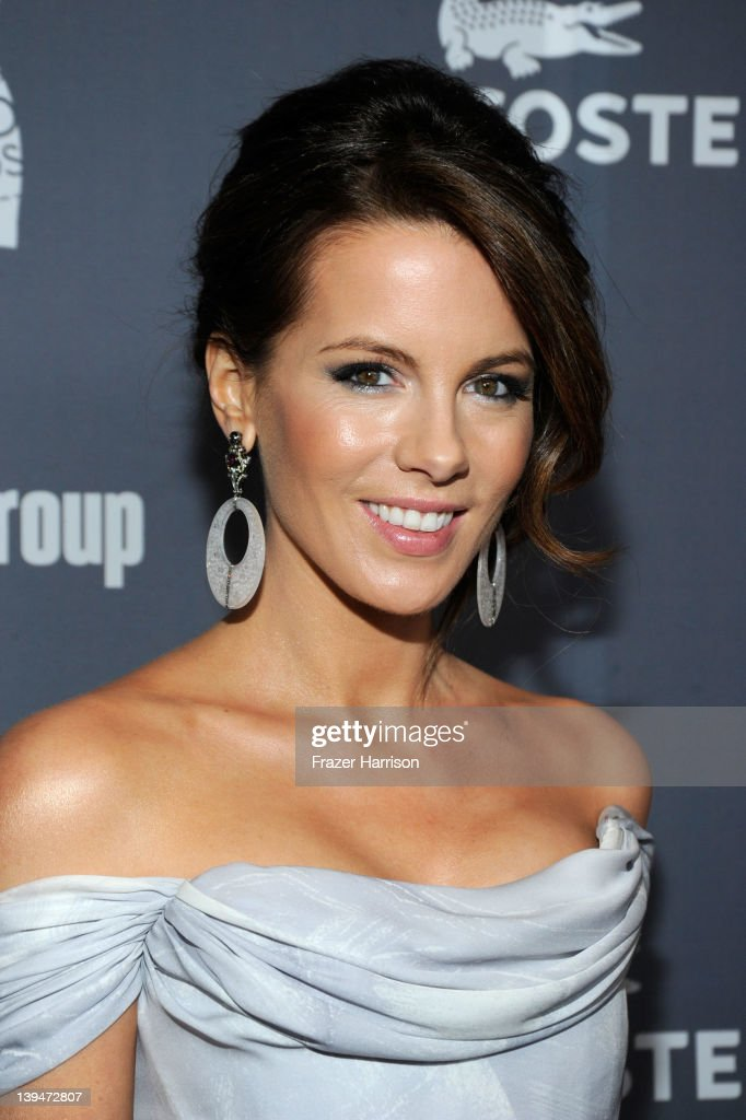 Actress <a gi-track='captionPersonalityLinkClicked' href=/galleries/search?phrase=Kate+Beckinsale&family=editorial&specificpeople=202911 ng-click='$event.stopPropagation()'>Kate Beckinsale</a> arrives at the 14th Annual Costume Designers Guild Awards With Presenting Sponsor Lacoste held at The Beverly Hilton hotel on February 21, 2012 in Beverly Hills, California.