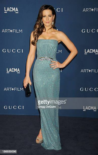 Actress Kate Beckinsale arrives at the LACMA 2013 Art Film Gala at LACMA on November 2 2013 in Los Angeles California