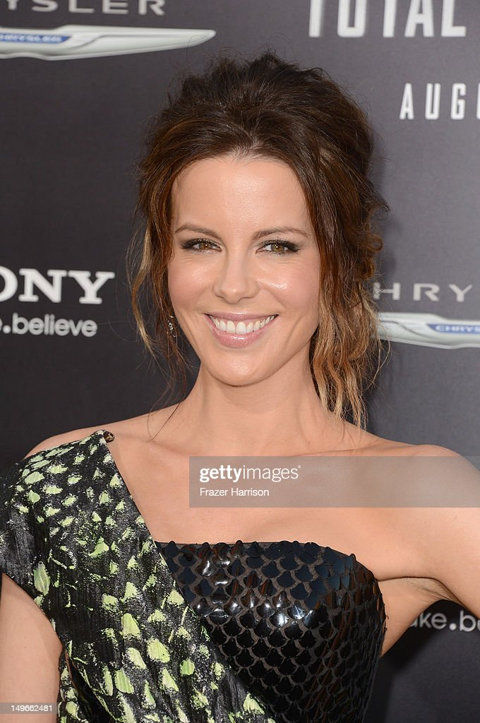 Actress Kate Beckinsale arrives at the premiere of Columbia Pictures' 'Total Recall' held at Grauman's Chinese Theatre on August 1, 2012 in Hollywood, California.