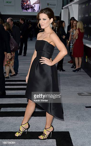 Actress Kate Beckinsale arrives at the Premiere of Paramount Pictures' 'Star Trek Into Darkness' at Dolby Theatre on May 14 2013 in Hollywood...