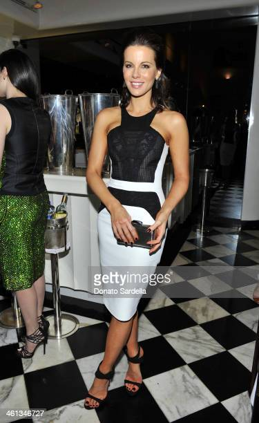 Actress Kate Beckinsale attend Private Antonio Berardi dinner on January 7 2014 in Beverly Hills California