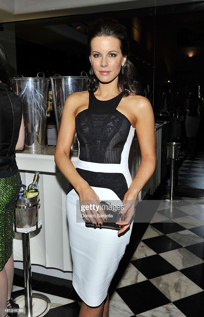 Actress Kate Beckinsale attend Private Antonio Berardi dinner on January 7, 2014 in Beverly Hills, California.