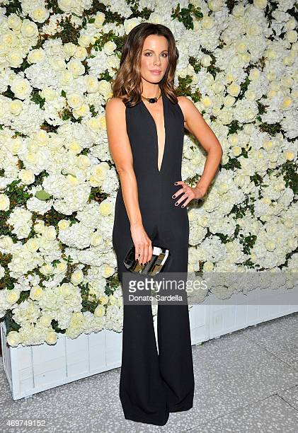 Actress Kate Beckinsale attends David And Victoria Beckham Along With Barneys New York Host A Dinner To Celebrate The Victoria Beckham Collection at...