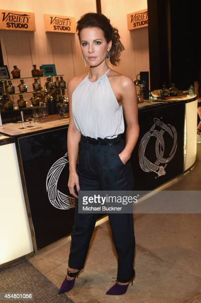 Actress Kate Beckinsale attends day 2 of the Variety Studio presented by Moroccanoil at Holt Renfrew during the 2014 Toronto International Film...