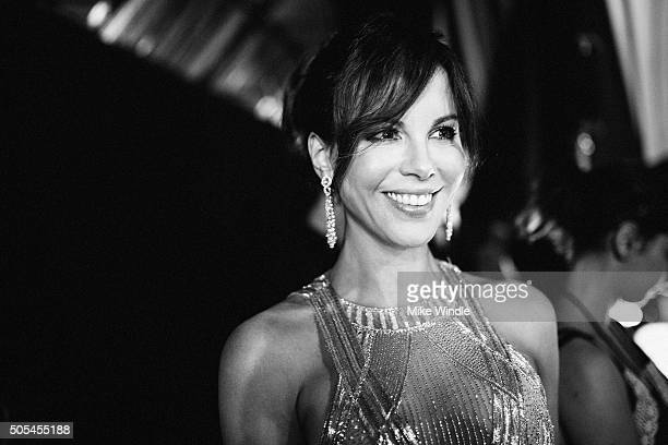 Actress Kate Beckinsale attends the 21st annual Critics' Choice Awards at Barker Hangar on on January 17 2016 in Santa Monica California