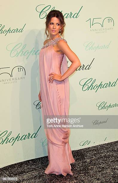 Actress Kate Beckinsale attends the Chopard 150th Anniversary Party at the VIP Room Palm Beach during the 63rd Annual International Cannes Film...