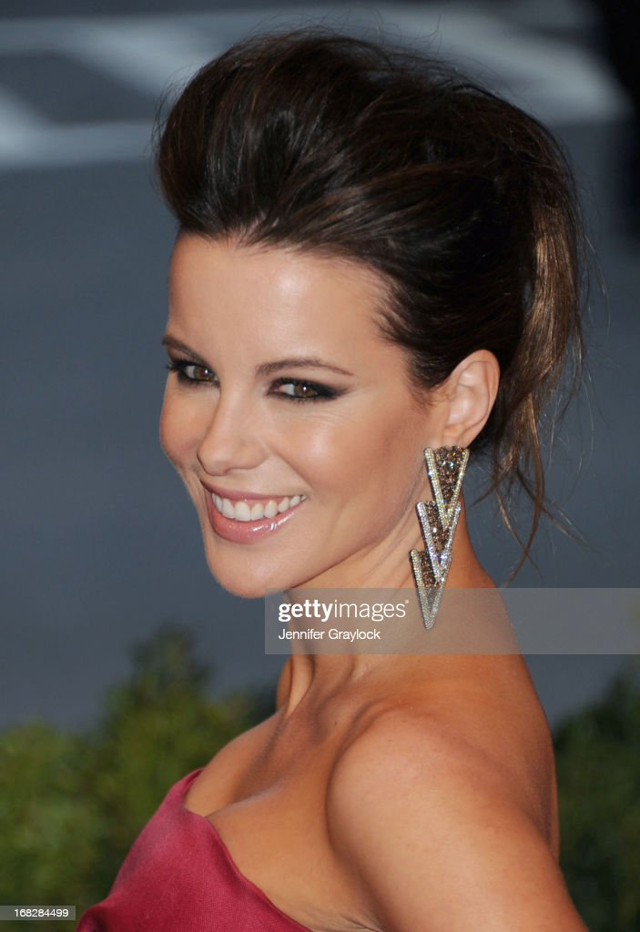 Actress Kate Beckinsale attends the Costume Institute Gala for the 'PUNK: Chaos to Couture' exhibition at the Metropolitan Museum of Art on May 6, 2013 in New York City.