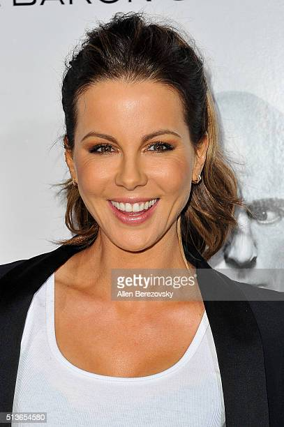 Actress Kate Beckinsale attends the Los Angeles Premiere of Columbia Pictures and Village Roadshow Pictures 'The Brothers Grimsby' at Regency Village...
