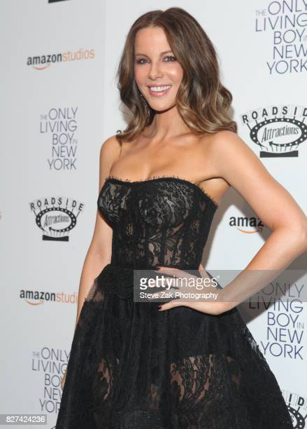 Actress Kate Beckinsale attends 'The Only Living Boy In New York' New York premiere at The Museum of Modern Art on August 7 2017 in New York City