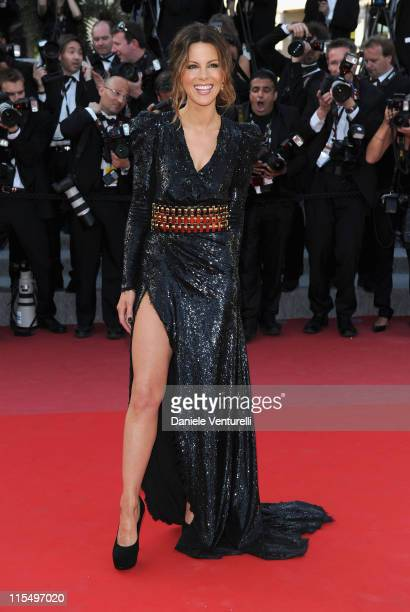Actress Kate Beckinsale attends the premiere of 'Biutiful' held at the Palais des Festivals during the 63rd Annual International Cannes Film Festival...