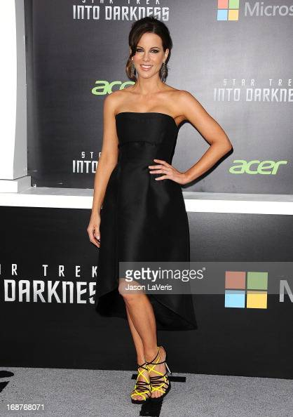 Actress Kate Beckinsale attends the premiere of 'Star Trek Into Darkness' at Dolby Theatre on May 14 2013 in Hollywood California