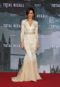 Actress Kate Beckinsale attends the 'Total Recall' Berlin premiere at Sony Center on August 13 2012 in Berlin Germany