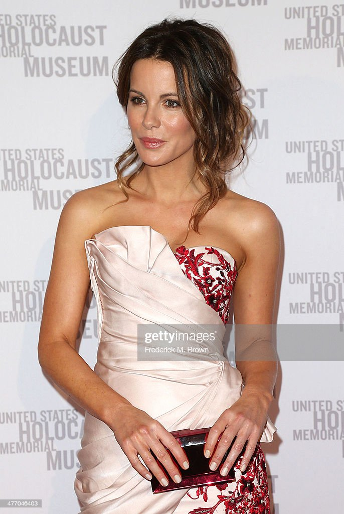 Actress Kate Beckinsale attends the United States Holocaust Memorial Museum Presents '2014 Los Angeles Dinner: What You Do Matters' at The Beverly Hilton Hotel on March 6, 2014 in Beverly Hills, California.