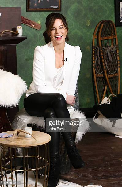 Actress Kate Beckinsale from the film ''Love Friendship' attended The Hollywood Reporter 2016 Sundance Studio At Rock Reilly's Day 2 on January 23...