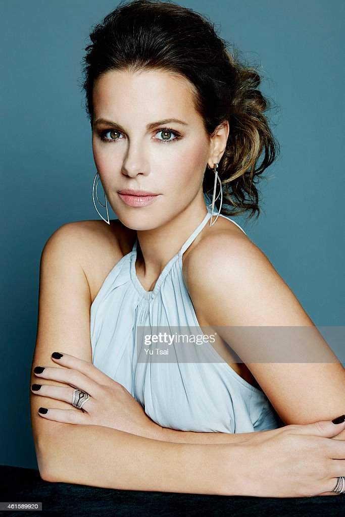 Actress <a gi-track='captionPersonalityLinkClicked' href=/galleries/search?phrase=Kate+Beckinsale&family=editorial&specificpeople=202911 ng-click='$event.stopPropagation()'>Kate Beckinsale</a> is photograhed for Variety on September 6, 2014 in Toronto, Ontario.