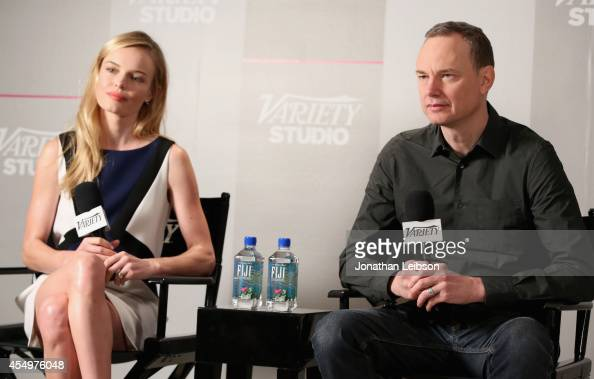 Actress Kate Bosworth and cowriter/codirector Wash Westmoreland attend the Variety Studio presented by Moroccanoil at Holt Renfrew during the 2014...
