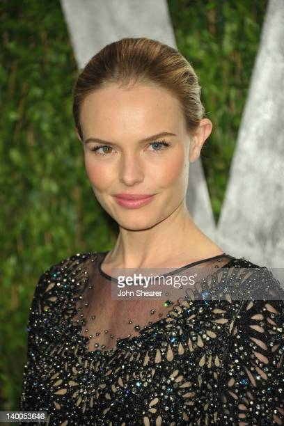 Actress Kate Bosworth arrives at the 2012 Vanity Fair Oscar Party hosted by Graydon Carter at Sunset Tower on February 26 2012 in West Hollywood...